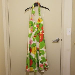 Miss Sixty floral halter dress